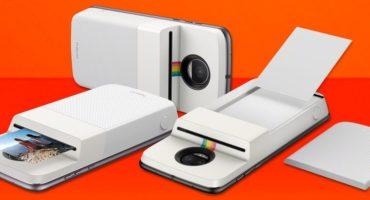 Motorola confirma Moto Mod da Polaroid com impressora embutida